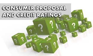How Will a Consumer Proposal Impact My Credit Rating?