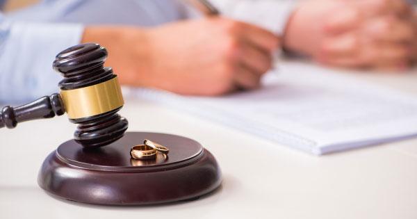 building credit aftr divorce